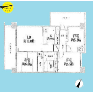 3LDK {building type} in Shishibone - Edogawa-ku Floorplan