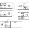 1K Apartment to Rent in Nagoya-shi Kita-ku Floorplan