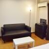 1DK Apartment to Rent in Osaka-shi Joto-ku Living Room