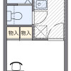 1K Apartment to Rent in Tachikawa-shi Floorplan