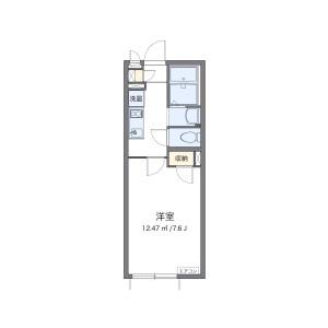 1K Apartment in Shinjo - Kawasaki-shi Nakahara-ku Floorplan