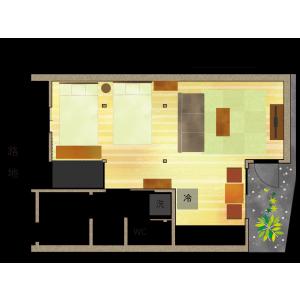1R House in Honkawaracho - Kyoto-shi Higashiyama-ku Floorplan
