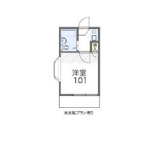 1K Apartment in Kugahara - Ota-ku Floorplan