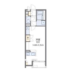 1R Apartment in Nishiikuta - Kawasaki-shi Tama-ku Floorplan