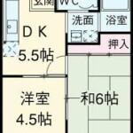 2DK アパート
