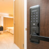 1K Serviced Apartment to Rent in Osaka-shi Naniwa-ku Security