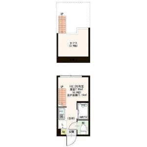 1R Apartment in Iwaicho - Yokohama-shi Hodogaya-ku Floorplan