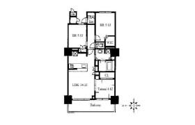 3LDK Apartment in Fukushima - Osaka-shi Fukushima-ku
