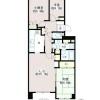 3LDK Apartment to Rent in Shibuya-ku Floorplan