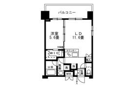 1LDK Mansion in Kinshi - Sumida-ku