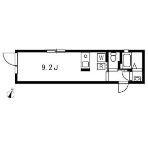 1R Apartment in Koyama - Shinagawa-ku Floorplan