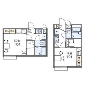 1K Apartment in Uraga - Yokosuka-shi Floorplan