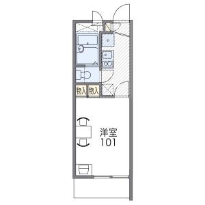 1K Mansion in Saigodori - Moriguchi-shi Floorplan