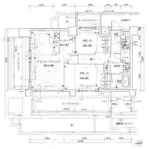 2LDK Mansion in Wakaba - Shinjuku-ku Floorplan