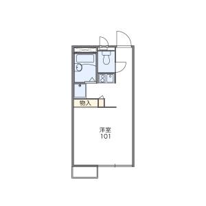 1K Mansion in Sashiogi - Saitama-shi Nishi-ku Floorplan
