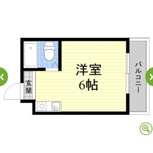 1R Mansion in Kunijima - Osaka-shi Higashiyodogawa-ku Floorplan
