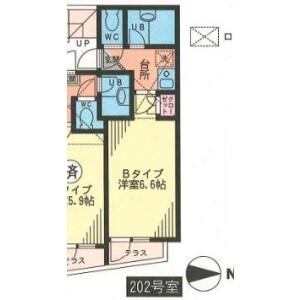 1R Apartment in Maginu - Kawasaki-shi Miyamae-ku Floorplan