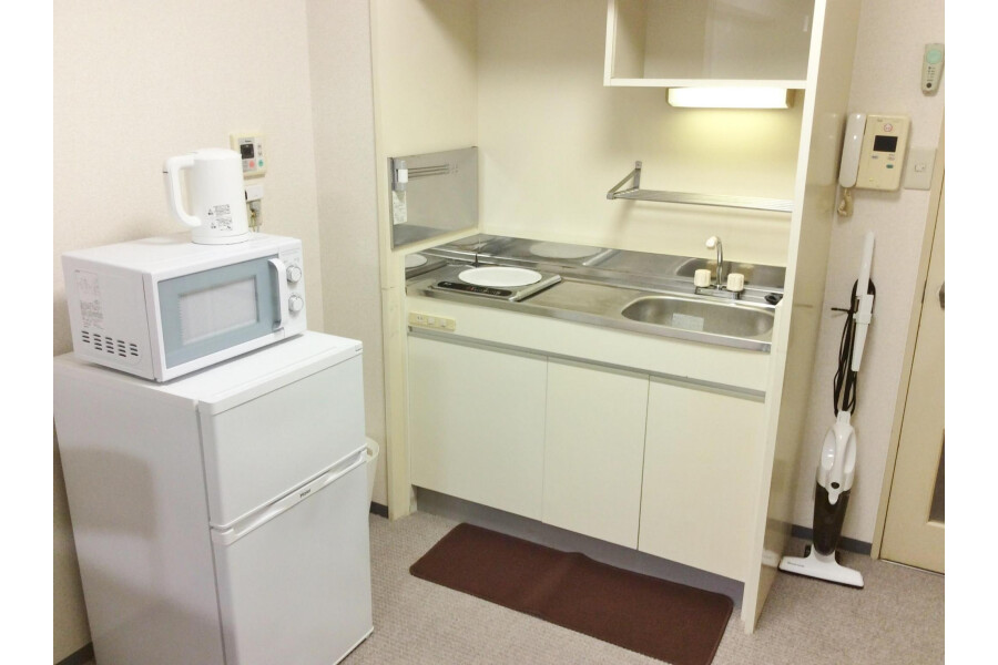 1DK Apartment to Rent in Osaka-shi Abeno-ku Kitchen