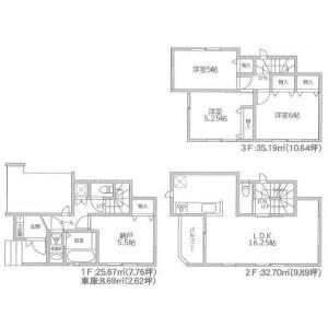 4LDK {building type} in Minato - Ichikawa-shi Floorplan