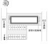 1K Apartment to Rent in Nakagami-gun Nakagusuku-son Layout Drawing
