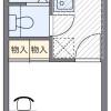 1K アパート 名古屋市東区 間取り