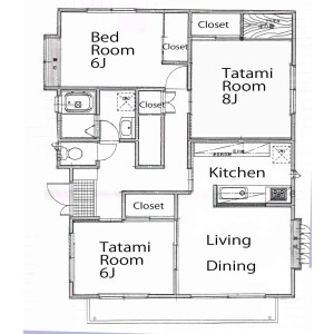 3LDK Mansion in Nishishinjuku - Shinjuku-ku Floorplan