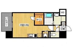 1R {building type} in Watanabedori - Fukuoka-shi Chuo-ku