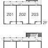 1LDK Apartment to Rent in Yokohama-shi Kohoku-ku Floorplan