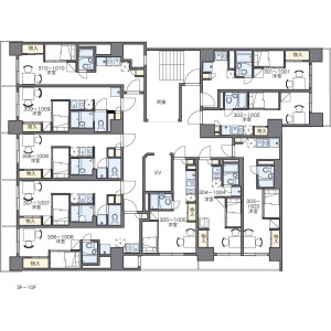 1K Mansion in Yaesu(2-chome) - Chuo-ku Floorplan