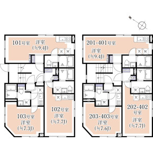 1R Mansion in Chitosedai - Setagaya-ku Floorplan
