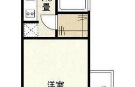 1K Apartment in Toyama(3-chome18.21-ban) - Shinjuku-ku