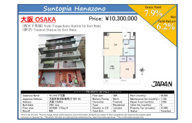 2DK {building type} in Bainan - Osaka-shi Nishinari-ku