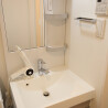 1K Serviced Apartment to Rent in Ota-ku Washroom