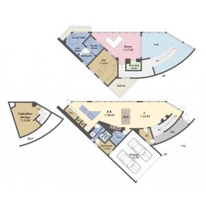1SLDK {building type} in Nokendai - Yokohama-shi Kanazawa-ku Floorplan
