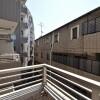 1K Apartment to Buy in Shinjuku-ku Balcony / Veranda