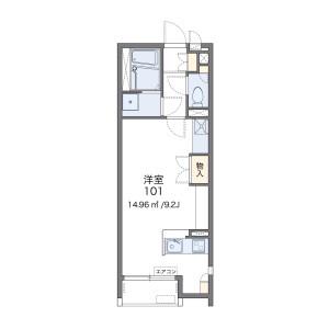 1R Apartment in Yamazumicho - Sasebo-shi Floorplan