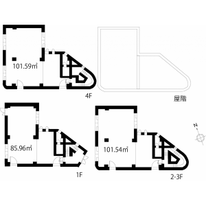 Whole Building Office in Yoyogi - Shibuya-ku Floorplan