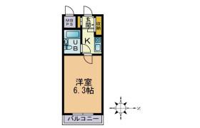 1K Mansion in Shinoharadaimachi - Yokohama-shi Kohoku-ku