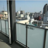 1LDK Apartment to Rent in Kita-ku Balcony / Veranda