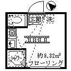1R Apartment in Kitashinjuku - Shinjuku-ku Floorplan