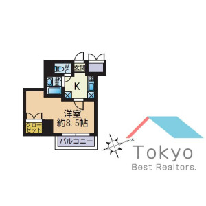 1K Mansion in Ikebukuro (1-chome) - Toshima-ku Floorplan