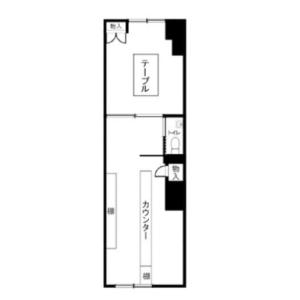 Shop {building type} in Toyosaki - Osaka-shi Kita-ku Floorplan