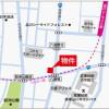 2LDK Apartment to Rent in Shinagawa-ku Map