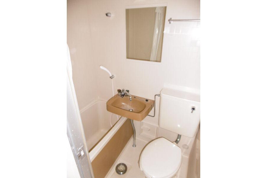1R Apartment to Rent in Nagoya-shi Higashi-ku Bathroom