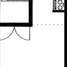 在札幌市西区内租赁1K 公寓大厦 的 楼层布局