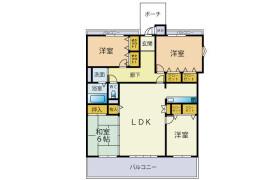 4LDK Apartment in Shirahagimachi - Kitakyushu-shi Kokurakita-ku