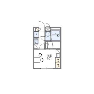 1K Mansion in Baba - Yokohama-shi Tsurumi-ku Floorplan