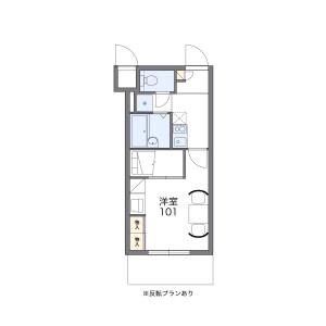 1K Apartment in Fujimi - Urayasu-shi Floorplan