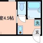 1K アパート