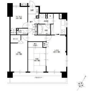 2SLDK {building type} in Fujisawa - Fujisawa-shi Floorplan